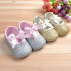 New Baby Toddler Prewalker Soft Sole Crib Shoes Infant Girls Antislip Shoes