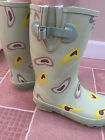 Evercreatures Country Love Hearts Shortie Wellies Wellington Boots - Brand New