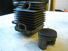 STIHL FS 75,80 ,85 - CYLINDER WITH PISTON ,USED ASSEMBLY