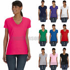 Fruit of the Loom Ladies Heavy Cotton HD V Neck T Shirt Wome