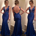 Sexy Women Evening Party Ball Prom Gown Formal Bridesmaid Cocktail Long Dress