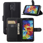 For Galaxy S5 i9600 Fashion Flip Stand Cover Case Card Holder