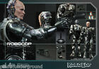 "NEW HOT TOYS 12"" ROBOCOP BATTLE DAMAGED 1:6 SCALE FIGURE CLASSIC MOVIE 1987 HTF"