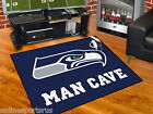 Seattle Seahawks Man Cave Area Rug Choose from 4 Sizes