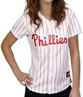 Philadelphia Phillies MLB Women's Majestic Home White Replica Jersey Plus Sizes