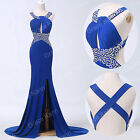 Sexy Mermaid Long Maxi Formal Evening Prom Gown Party Wedding Bridesmaid Dress