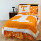 Tennessee Volunteers Comforter Sham and Sheet Set Twin or King Size Reversible