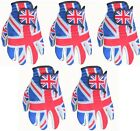 5 Union Jack BACK Golf Gloves Cabretta Leather Palm 4 Small Medium Large Extra