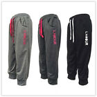 NEW Women 3/4 length Gym Sports Jogging Tapered Leg Words Trackies Track Pants