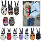 MultiColor Nylon Pet Puppy Dog Carrier Backpack Front Tote Carrier Net Bag S-XL