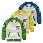 Boys Clothes Spring Fall Kids Jacket Children Clothing Outerwear coat LS-S0006