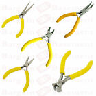 Mini Small Pliers Precision Jewellery Craft Long/Bent Nose End/Side Cut Spring