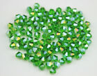 Free shipping DIY 100-1000PCS  4mm Austria Crystal 5301# Bicone Beads Wholesale