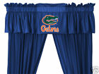Florida Gators Drapes Curtains & Valance Set with Tie Backs