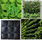 Vertical Greening Hanging Wall Garden Plant Bags Wall Planter 9/18/36 Pockets