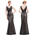 Women Long Dress Bridesmaid Formal Evening Gown Cocktail Party Prom Ball Dress