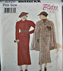 Butterick Sewing Pattern 6329 Retro Ladies 30s Skirt Jacket Cape Suit Pick Size