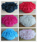 B&N Baby Girl Cotton Bloomer Ruffle Diaper Cover Underwear Briefs Pants 0-24M