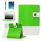 For Apple iPad 2 3 4 mini Air - Hybrid Premium Leather Smart Case Green