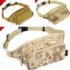 Running riding camouflage shoulder bag Messenger bag waterproof pockets Outdoor