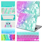 "Colorful Marble Prints Hard Case+Keyboard For Macbook Pro Air 11""12""13""15""Retina"