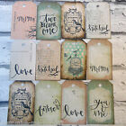 12 or 24 Wedding Love Mr & Mrs | Shabby Chic style wish tree labels | Gift tags