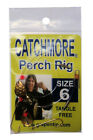 Catchmore Perch Rig - 12 PACKS of Same Color/Size, Tangle Free for Pan/Game Fish