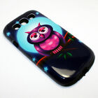 Full Moon Owl Hybrid Shockproof Phone Cover Case For Samsung Galaxy S3 I9300