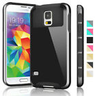 PC Shockproof Rubber Matte Protective Cover Case For Samsung Galaxy S5 V i9600