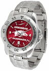 Arkansas Razorbacks Watch  Anochrome Red Dial Ladies or Mens