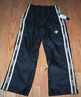 Nwt New Orleans Saints Logo Football Tailgate Pants Weather Proof Black Nice Men