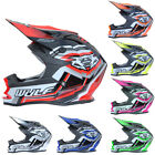 Wulfsport ADVANCE Child Kids CUB Motorcross Motocross MX Helmet Quad ATV Crash