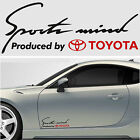 Sports mind produced by TOYOTA #4 Decals Stickers Graphics Camry Avensis Venza I