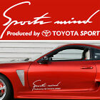 Sports mind produced by TOYOTA SPORT #5 Decal Sticker Graphics Hilux Tundra I