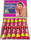 KAJAL Dark Brown Henna Cones Choose 6 for £3.49 / 12 for £4.99 / 48 for £17.99