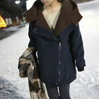 New Women Thicken Cotton Winter Large size Long Section Overcoat Hooded Coats