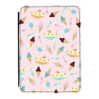 Ice Cream Sundae Sweets Pink Kindle Paperwhite Touch PU Leather Flip Case Cover