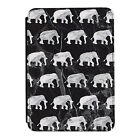 Grey Marble Elephants Animals Kindle Paperwhite Touch PU Leather Flip Case Cover