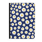 Daisies Blue Flowers Pattern Floral Universal Tablet 7* Leather Flip Case Cover