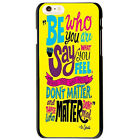 Dr Seuss Be Who You Are Quote Unique Protector Cover Case For Apple iPhone 4S 5S