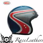 BELL 2016 CUSTOM 500 HERITAGE RED BLUE USA OPEN FACE CRUISER MOTORCYCLE HELMET