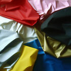 MATTE NON-GLOSS VINYL PLEATHER WATERPROOF GOTHIC FETISH FABRIC POLY BACKING 54'W