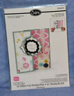 Sizzix Framelits Flip-Its Die Regal/Square/Circle Card-you choose pack/comb ship