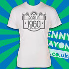 BORN IN 1960's - AGED TO PERFECTION / MADE / EST. YEAR T-SHIRT! THE SIXTIES