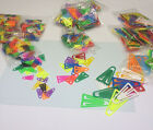 Plastic Paper Clip Page Markers Tabs & Flag Identifiers