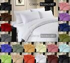 Ever New 1pc Fitted Sheet Extra Deep Pocket 1000TC 100%Egyptian Cotton Solid/pl