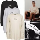 New Mens ACW A Cold Wall Print Graphic Long Sleeve Cotton T-shirt Tee Streetwear