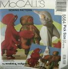 McCalls Sewing Pattern 5564 Kids Lobster Octopus Dolphin Sea Animal Costume