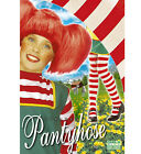 Childs 70 Denier Red and White Striped Tights Book Week Fancy Dress Halloween
