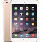 "Brand New Apple iPad mini 3 -7.9"" 128GB Wi-Fi + 4G GSM Unlocked Touch ID Sealed"